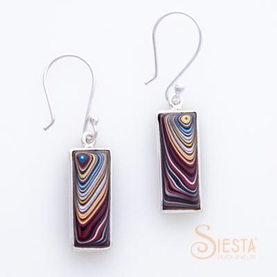 Corvette Paint Earrings on Hook