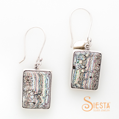 Vintage Fordite Earrings